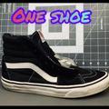 Vans Shoes | One Shoe - Vans Sk8-Hi Black - One Shoe | Color: Black | Size: 6