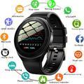 GEJIAN – montre connectée pour hommes, smartwatch avec appels Bluetooth, carte mémoire 8 go, lecteur