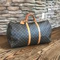 Louis Vuitton Other   Louis Vuitton Malletier - Keepall 60 Travel Bag   Color: Gray   Size: Os