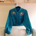 Disney Jackets & Coats   Disney Aladdin Reversible Cropped Jacket   Color: Blue   Size: Xs