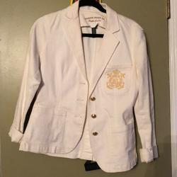 Ralph Lauren Jackets & Coats | Lauren Jeans Co Ralph Lauren Xs Jean Jacket | Color: White | Size: Xs