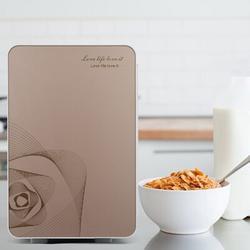 CreateNewFlow 20L Portable Small Mini Fridge,Car Refrigerator Mini Cold & Warm Refrigerator in Yellow, Size 16.53 H x 12.99 W x 10.62 D in | Wayfair