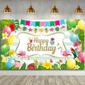 SCHCJI Mermaid Party Decorations, Mermaid Birthday Party Decorations For Girls, Mermaid Birthday Party Supplies, Happy Birthday Banner, Balloons