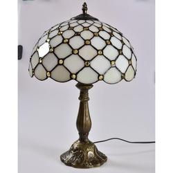 """Astoria Grand Summitville 18.1"""" Antique Bronze Table Lamp w/ Outlet Resin/Glass in Brown/Green/White, Size 18.1 H x 12.0 W x 12.0 D in 