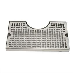 """Arlmont & Co. Stainless Steel Drip Tray Removable Surface Mounted Without Drain New - Large 12"""" X 7"""" in Gray, Size 3.4 H x 12.0 W x 7.0 D in Wayfair"""