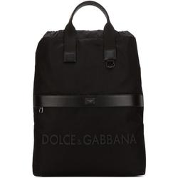 Logo Strap Backpack - Black - Dolce & Gabbana Backpacks