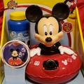 Disney Toys | Nwot Mickey Bubble Machine | Color: Black/Red | Size: Osb