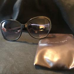 Michael Kors Accessories | Michael Kors Black Sunglasses | Color: Black | Size: Os