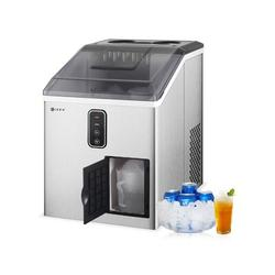 Iker Countertop Ice Maker, 2 In 1 Ice Maker & Shaver Machine, 33lbs Ice Cubes In 24 H, 12 Bullet Ice Cubes Ready In 10 Mins in Gray   Wayfair