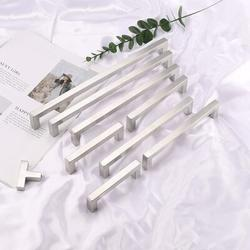 SCHCJI Satin Nickel Cabinet Bar Pull Metal in Gray, Size 2.0 H x 0.5 W in | Wayfair SCHCJI86ef4d2