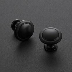 SCHCJI Sahara Kitchen Cabinet Knobs Bar Pull Metal in Black, Size 1.25 H x 0.75 W in | Wayfair SCHCJI0b9c5a4