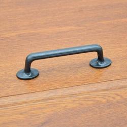 "SCHCJI 3-7/7"" Vintage Cabinet Bar Pull Metal in Black, Size 5.5 H x 1.0 W in | Wayfair SCHCJI8a04f2a"