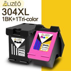 Alizeo – cartouche d'encre 304 XL pour HP, reconditionnée, pour Deskjet 304 3723 3724 3730 3732 3752