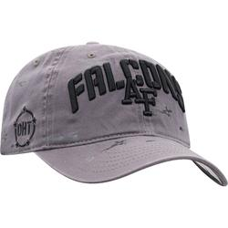 """""""Men's Top of the World Gray Air Force Falcons OHT Military Appreciation Runner Adjustable Hat"""""""