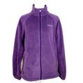 Columbia Jackets & Coats   Columbia Fleece Full Zip Up Womens Jacket Coat   Color: Purple   Size: L