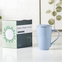 new chapter Ceramic Tea Coffee Mug in Blue, Size 5.8 H in | Wayfair A0B1B091SMN5ZRA0B0