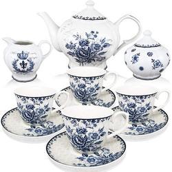 Xiangong BT?T - Tea Set, China Tea Set, Tea Service, Tea Cups (8Oz), Creamer & Sugar Set, Tea Cups & Saucer Set, Tea Pot, Tea Set For Adults Wayfair
