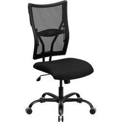 Xiangong Flash Furniture HERCULES Series Big & Tall 400 Lb. Rated Mesh Executive Swivel Ergonomic Office Chair in Black | Wayfair