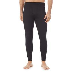 Men's Climatesmart by Cuddl Duds Heavyweight ArctiCore Performance Base Layer Zip-Off Pants, Size: Large, Black