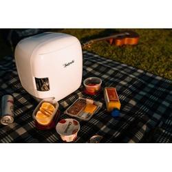 Astroai Mini Fridge, 9 Liter/12 Can Compact Ac/dc Skincare Fridge Portable Thermoelectric Cooler & Warmer For Skincare, Foods, Bedroom Plastic
