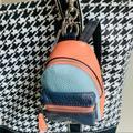 Coach Accessories | New Coach Mini Backpack Key Chain | Color: Black/Orange | Size: Os