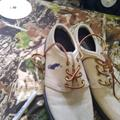 Polo By Ralph Lauren Shoes | Pair Of Polo Casual Shoes | Color: Blue/Tan | Size: 10.5