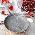 Old Hong Trading Frying Pan w/ Lid, Ultra Nonstick Small Frying Pan w/ Stone Interior, Granite Frying Pan Nonstick, Stone Skillet w/ Lid | Wayfair