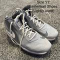 Nike Shoes | Nike Team Hustle D7 Basketball Shoes | Color: Gray | Size: Youth 7