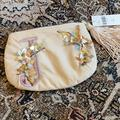 Anthropologie Bags   Anthropologie Flowering Monogram J Pouch   Color: Pink   Size: 5.75x8