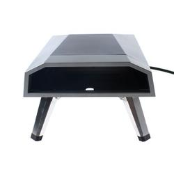 TFCFL Portable Gas Powered Pizza Oven 12 Inches Pizza Grill Machine in Black, Size 1.8 H x 15.7 W x 24.4 D in | Wayfair 20595