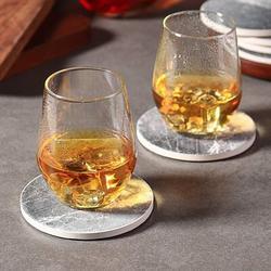 Drinks Absorbent Coaster Set w/ Holder Ceramic, Size 0.2 H x 4.0 D in   Wayfair ABSe4b404b