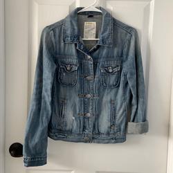 J. Crew Jackets & Coats | J.Crew Demin Jean Jacket Xsmall | Color: Blue | Size: Xs