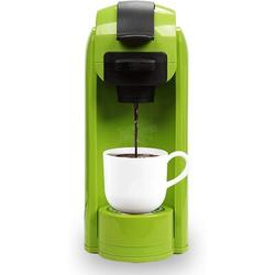 KANGJU Single Serve Coffee Maker, Coffee Machine For Most Single K-Cup Pods & Ground Coffee, Included Reusable Coffee Filter. Removable Water Tank