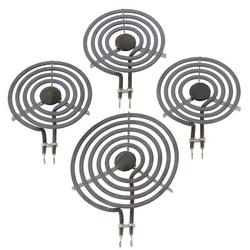 Kitchen Basics 101: 4 Piece Set MP31YA Electric Range Burner Surface Element in Black, Size 3.0 H x 7.2 W x 10.0 D in | Wayfair