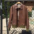 Levi's Jackets & Coats   Levis Vintage Clothing Leather Bomber Jacket   Color: Brown   Size: L