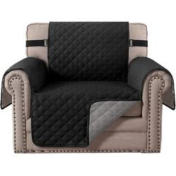 Rebrilliant Armchair Double Face Chair Cover Dog Pet Sofa Protection Chair Slide Cover Polyester/Polyester Blend, Size 1.0 H x 65.0 W x 75.0 D in