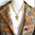 Gucci Jewelry   Gucci Rare Lock Key Necklace Vintage 24k Plated   Color: Gold   Size: 20 Adjustable To Shorter Length