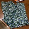 Michael Kors Pants & Jumpsuits | Michael Kors Navy And Green Size L Jean Leggings | Color: Blue/Green | Size: L