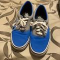 Vans Shoes   Blue & Gray Mens Vans   Color: Blue/Gray   Size: 10
