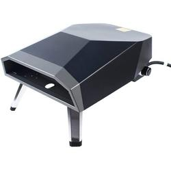 Fargor 12 Inch Gas Powered Outdoor Portable Pizza Oven w/ Pizza Shovel in Black, Size 11.81 H x 24.4 W x 24.4 D in | Wayfair L379