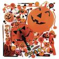 Oriental Trading Company Bulk Jack-O'-Lantern Halloween Assortment - 250 Pc. - Halloween - Assortments - 250 Pieces | Wayfair 13659051