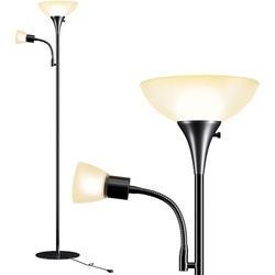 "Latitude Run® 65"" Tree Floor Lamp in Black/Yellow, Size 64.96 H x 11.81 W x 11.81 D in | Wayfair BD822AEA27A34EDD8FF5A07D8CA605ED"