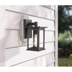 17 Stories Outdoor Wall Light Fixture, Exterior Wall Mount Lighting, Outdoor Wall Sconces, Porch Wall Lighting, Black Finish (Oil Rubber Bronze