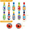 feidigeluo Bowling Set Toy, Toddlers Educational Toys w/ 10 Bowling Pins & 2 Balls, Size 3.93 H x 3.93 W x 3.93 D in   Wayfair Q3E8K908B3WHSYT