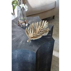 Safavieh Couture Shagreen Drum End Table Wood in Black, Size 20.67 H x 23.62 W x 23.62 D in | Wayfair SFV1508A