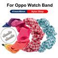 Bracelets de montre en tissu élastique pour montre Oppo, 41mm 46mm, accessoires unisexe, Sport