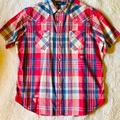 Polo By Ralph Lauren Shirts | Mens Polo Ralph Lauren Casual Western Shirt Used | Color: Blue/Pink | Size: Xl