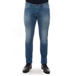 5 Pocket Denim Jeans Light Denim Cotton - Blue - Emporio Armani Jeans