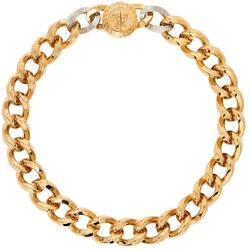 Gold Medusa Big Chain Necklace - Metallic - Versace Necklaces
