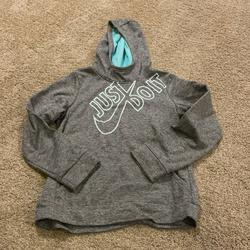 Nike Shirts & Tops | Like New - Nike Hoodie Size Youth Xl | Color: Gray | Size: Xlg
